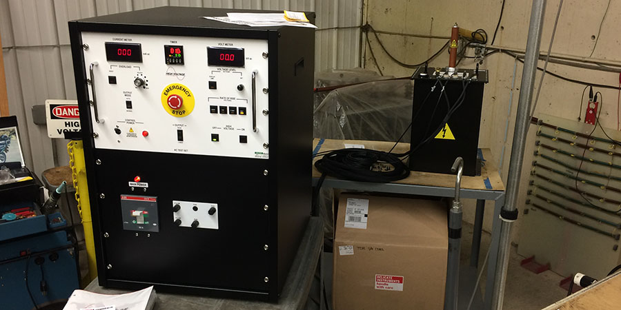 Component Production Testing High Voltage Inc